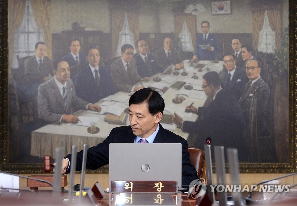 資料圖片:南韓央行行長李柱烈 韓聯社