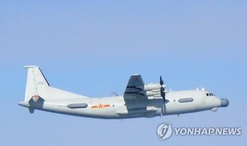 1架中國軍機一度飛入南韓防識區