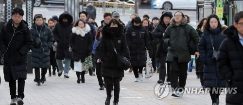 首爾迎強寒潮