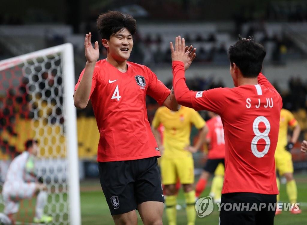東亞杯南韓男足1比0戰勝中國