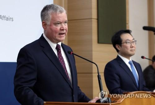 韓美對朝代表通話就金正恩勞動黨全會發言交流意見