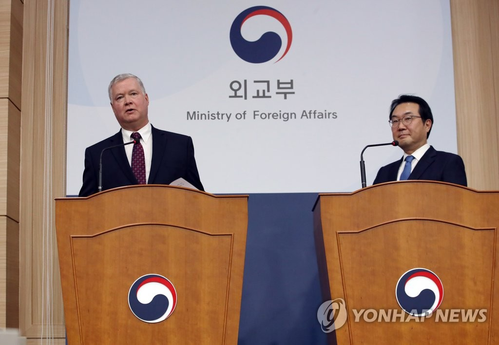 韓美對朝代表通電話討論朝核問題