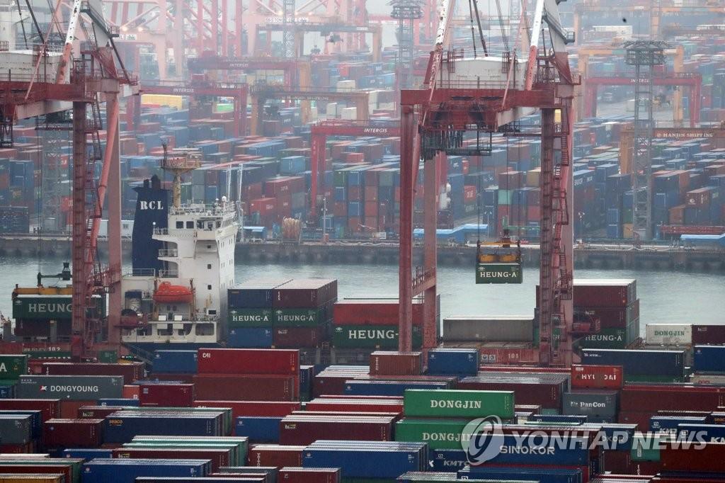 韓2月前20天出口同比增12.4% 日均減9.3%