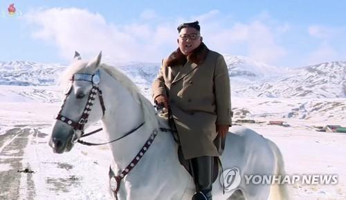 朝鮮新年紀錄片強調三代白頭山血統