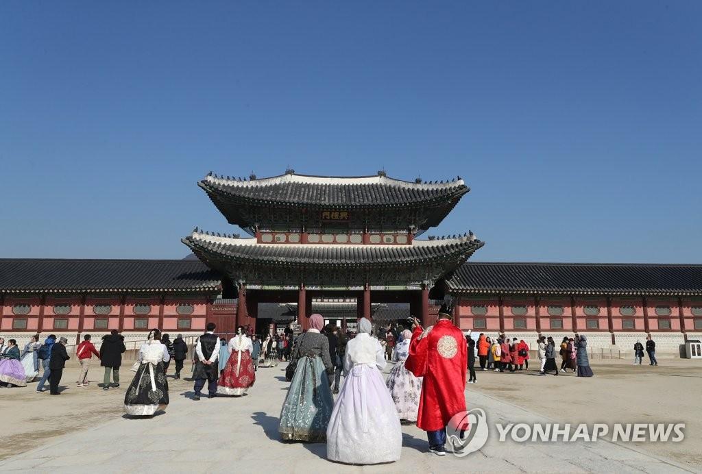 南韓擬春節假期免費開放景點促旅遊保民生