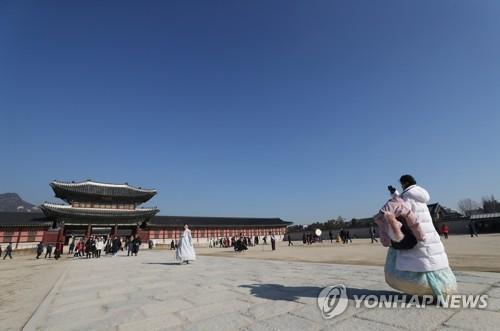 南韓春節假期免費開放古宮王陵等文化古跡