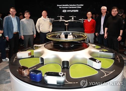 現代汽車攜手優步CES首推未來個人飛行器