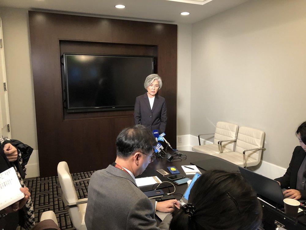 詳訊:韓外長表示韓朝和朝美對話在特定時點不拘先後