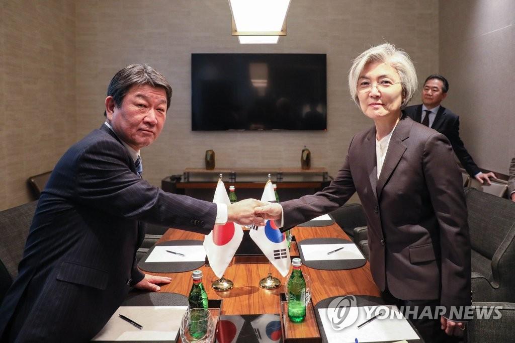 韓外長明在德國同美日外長舉行會談