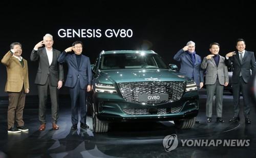 """詳訊:捷尼賽思發佈首款SUV""""GV80"""""""