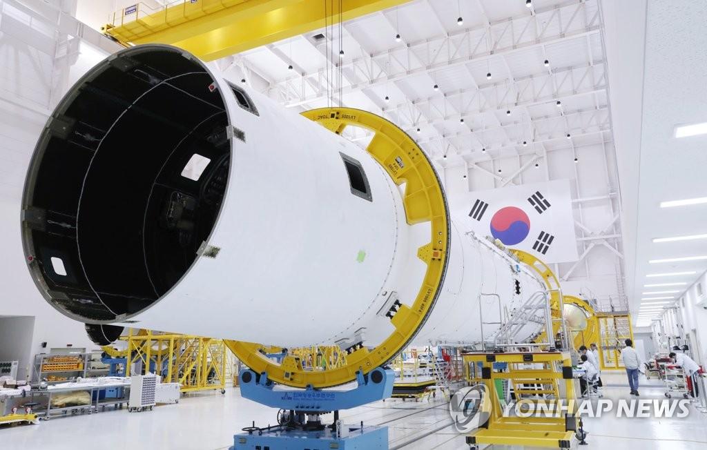 """南韓自研運載火箭""""Nuri""""號研發現場"""