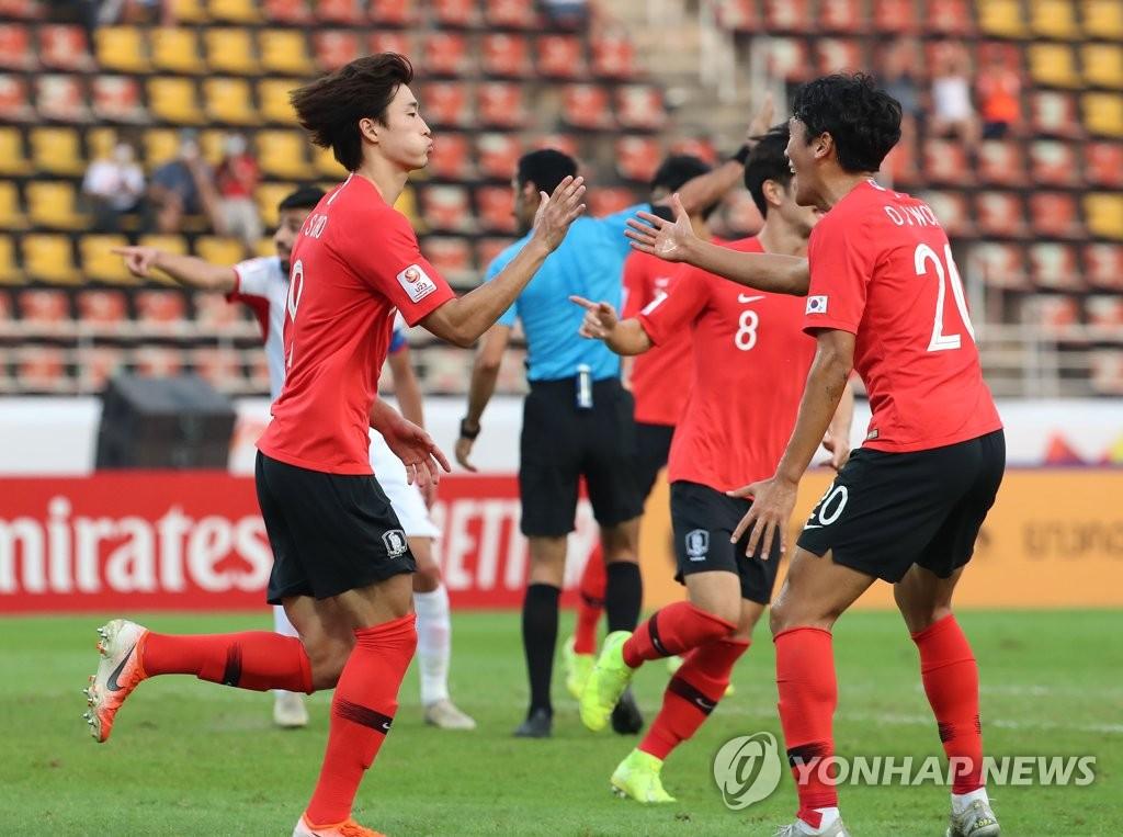 U23亞錦賽南韓2比1戰勝約旦
