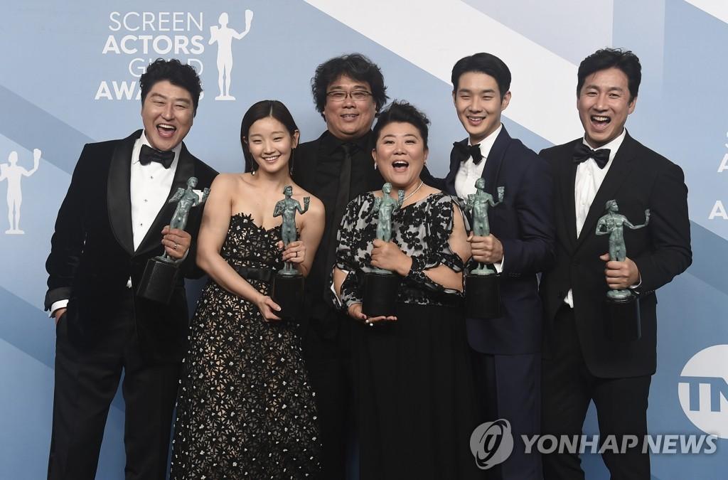 《寄生蟲》拿下美國演員工會獎最高獎