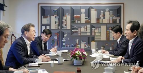 消息:韓總理向總統提同時撤換法檢兩長