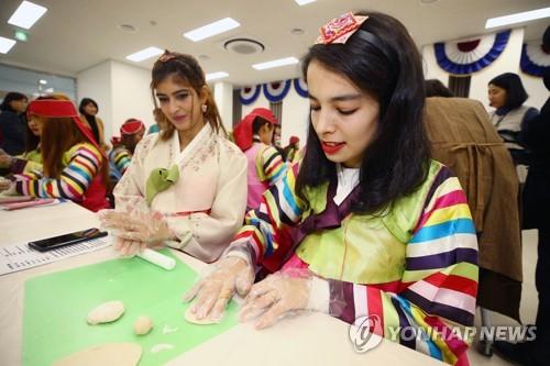 南韓男性涉外婚姻率連續4年呈增勢