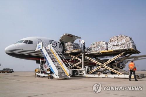 南韓將向中國提供價值500萬美元的防疫物資