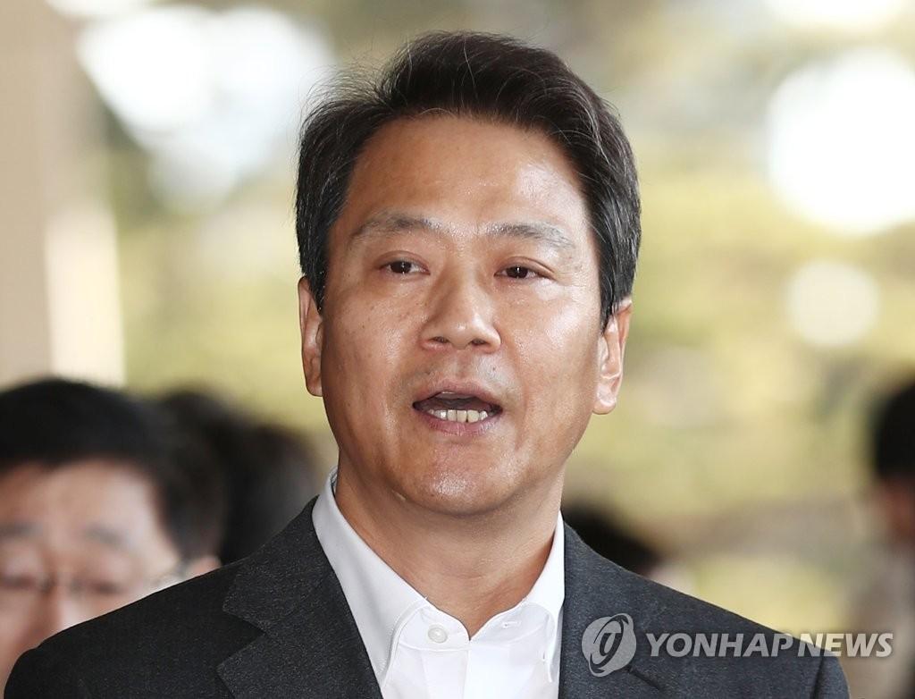 南韓前總統幕僚長任鐘皙接受檢方調查