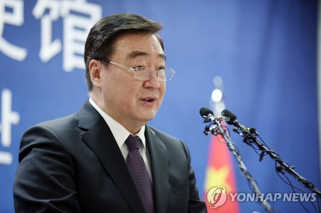 簡訊:中國駐韓大使召開吹風會介紹中國防疫情況