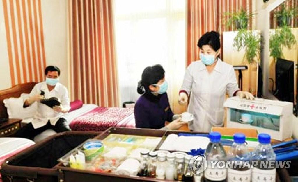 朝鮮重申尚未確診新冠感染病例