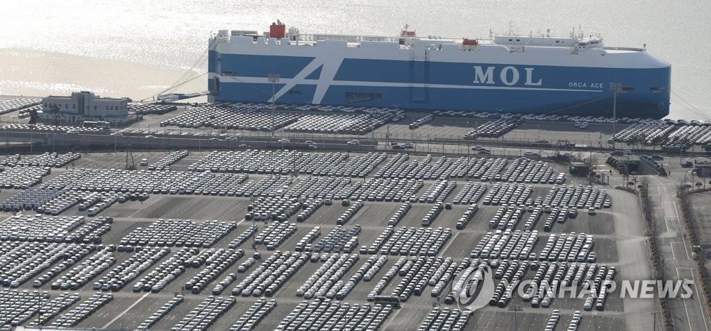 南韓五大整車廠商3月銷量同比減15%
