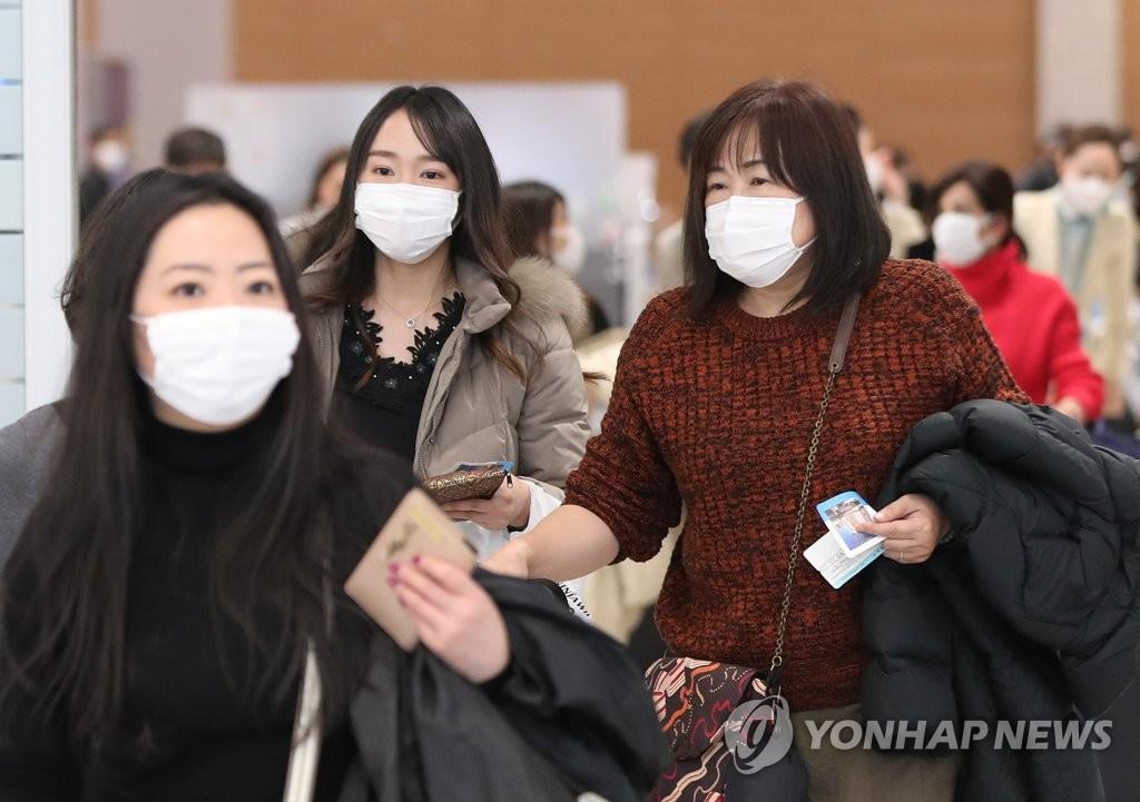 從武漢入境南韓人員新冠病毒潛伏期結束