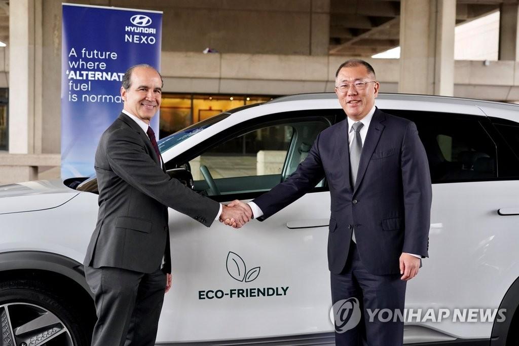 現代汽車與美國能源部開展氫燃料電池技術合作