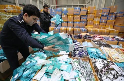 南韓決定對進口口罩限時實施零關稅