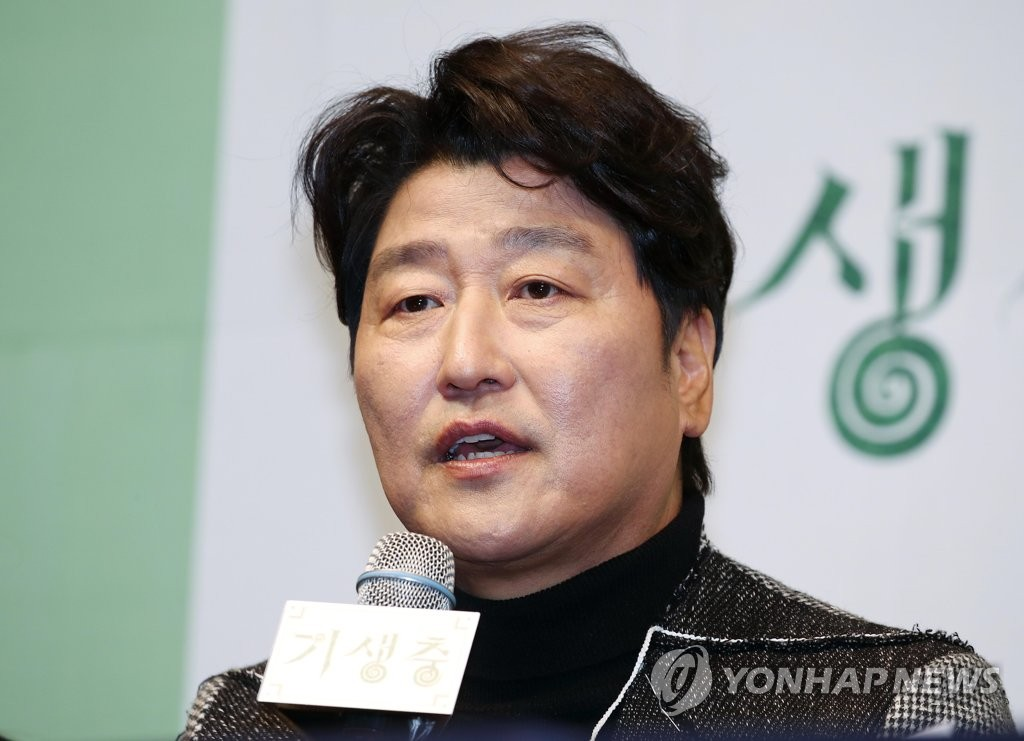 《寄生蟲》宋康昊:很榮幸向世界展示南韓優秀影片