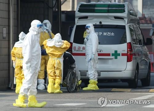 簡訊:南韓新增22例感染新冠病毒確診病例 累計104例