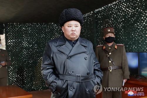 朝鮮昨或發射超大型火箭炮 金正恩指導訓練
