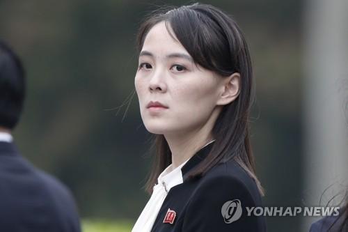 金與正首次發表對韓談話凸顯在朝政治地位
