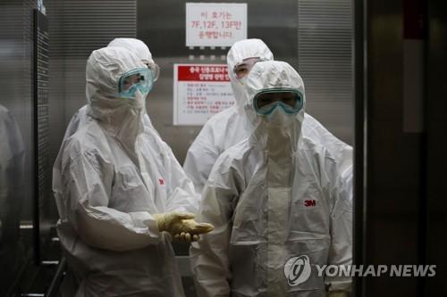 簡訊:南韓新增96例新冠確診病例 累計7478例