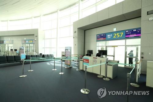 韓日互限入境致往返航班旅客大減