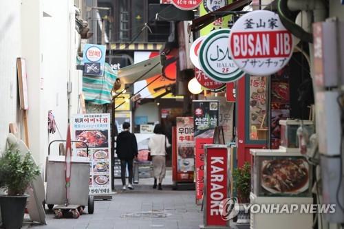 首爾3月以來1600家餐飲店關門停業