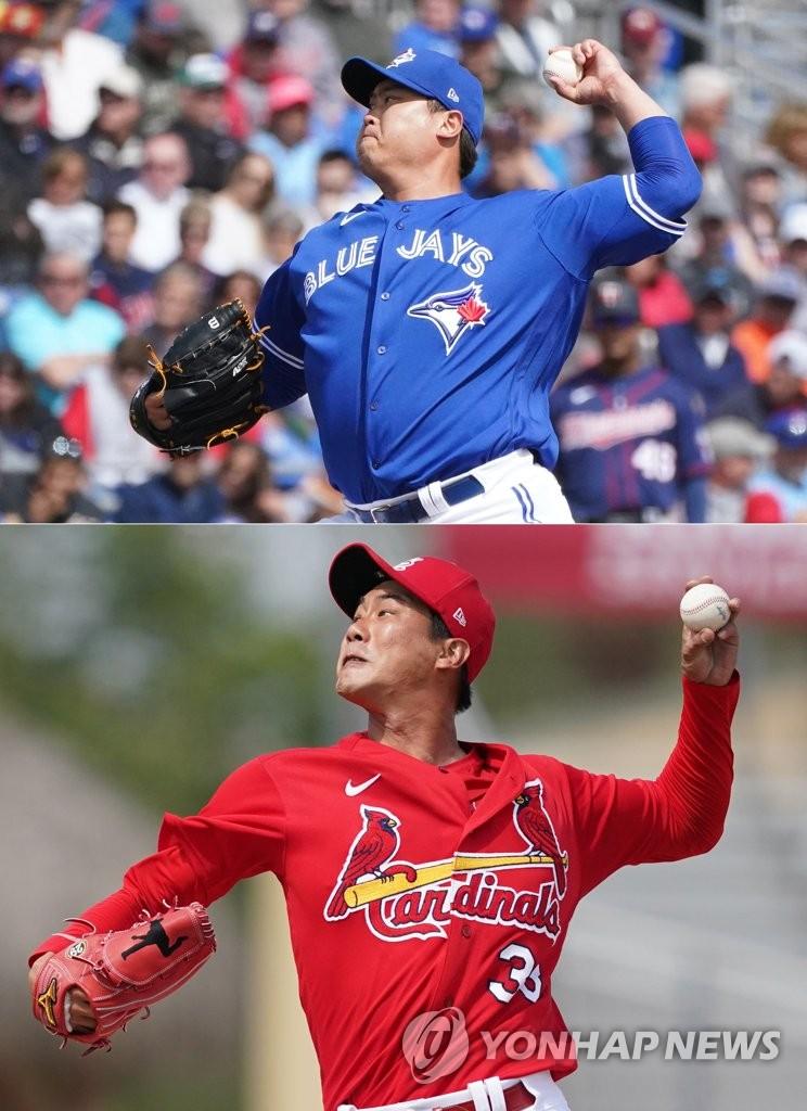 美職棒韓籍投手柳賢振和金廣鉉雙雙獲勝