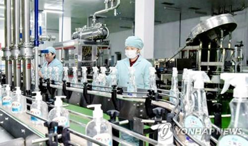 朝鮮集中力量生產口罩等防護用品