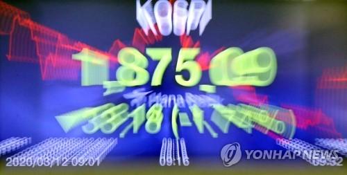 南韓有價證券市場盤中臨時停牌