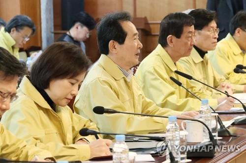 韓總理:疫情下將以非常手段扶持民生穩定經濟