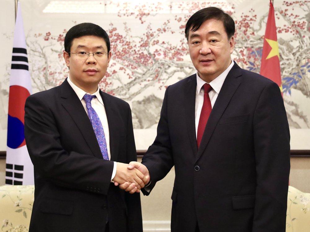 中國駐韓使館澄清涉韓籍船隻遭中方扣押報道不實
