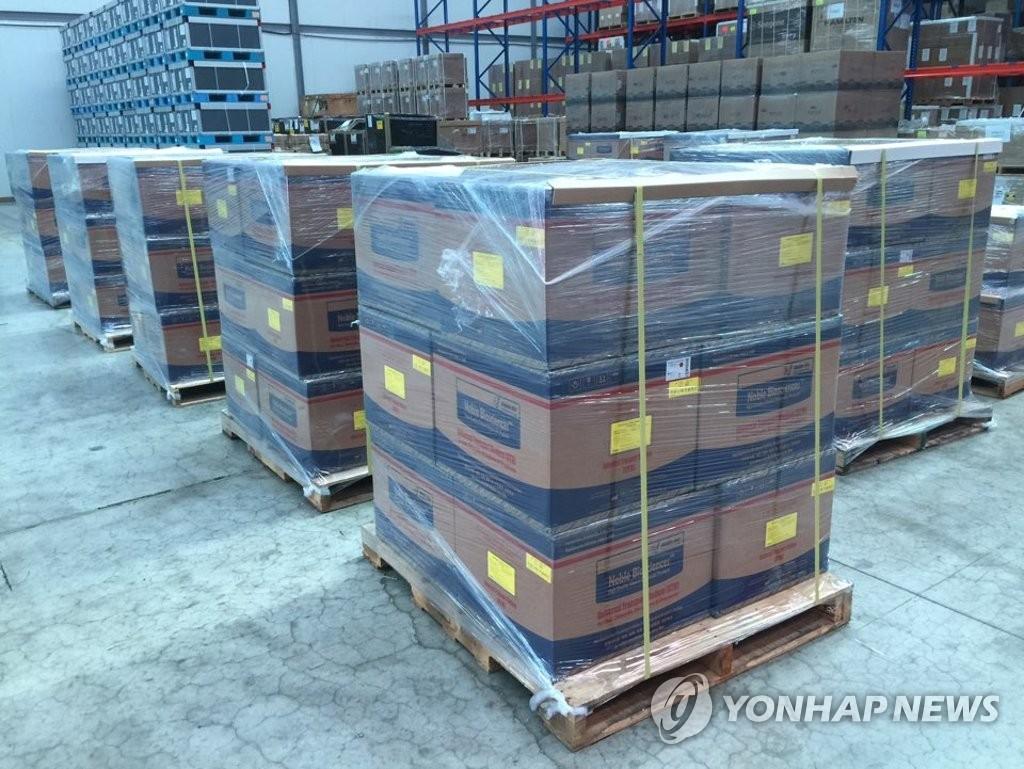 多國向韓請求出口或人道援助新冠診斷試劑