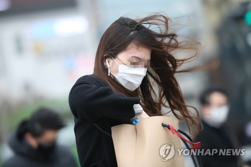 南韓氣象廳提升對首爾的強風預警級別