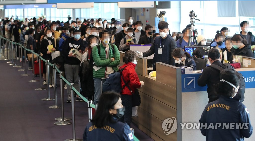 南韓將對所有自歐入境者進行新冠病毒檢測