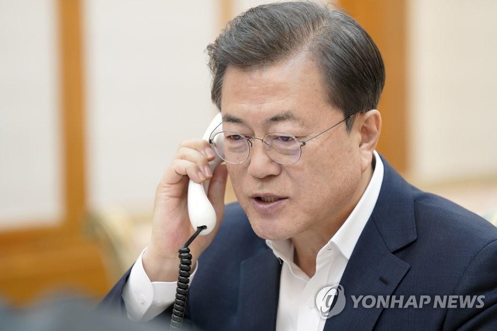 韓加領導人通電話共商合作抗擊新冠疫情