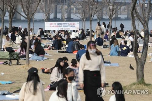 報告:南韓居民3月底遊園次數大增