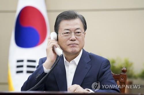 詳訊:韓加領導人通電話共商合作抗擊新冠疫情