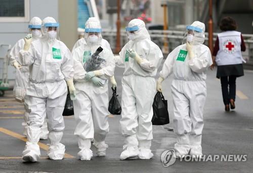 詳訊:南韓新增105例新冠確診病例 累計9583例