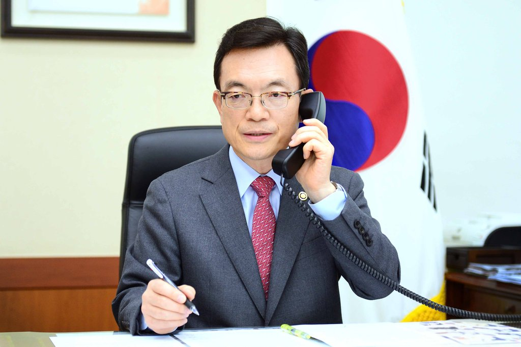 韓美日等7國副外長開電話會商討聯合抗疫
