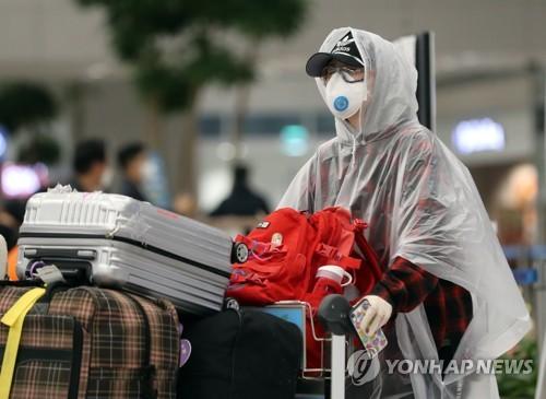南韓境外輸入病例持續增加 本週日均逾40例