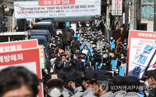 首爾政府將檢舉一教會違令禮拜