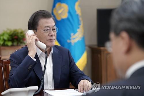 韓保加利亞領導人通電話共商合作抗疫